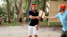 Tennis volley, Zilwa Attitude Hotel, Mauritius