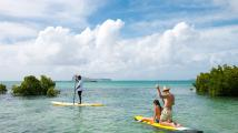 Stand up paddle, Zilwa Attitude Hotel, Mauritius
