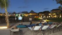 Evening entertainment, Zilwa Attitude Hotel, Mauritius